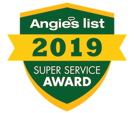 Angies List Super Service Award 2019 Badge